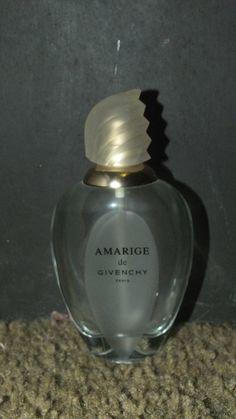Buy Perfume Bottle - Amarage de Givenchy Paris - Empty - Collectablefor R250.00