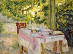 Bonnard: Table Set in a Garden, c. 1908.jpg (521×390)