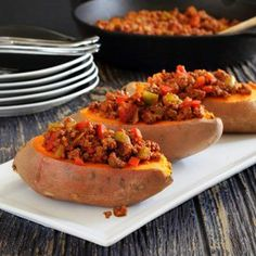 Paleo Sweet Potato Sloppy Joe's recipe #food #paleo #glutenfree
