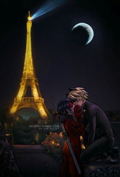 Image in Miraculous: Tales of Ladybug and Cat Noir collection by 《Temissterr》 Miraculous Ladybug Kiss, Miraculous Ladybug Wallpaper, Miraclous Ladybug, Ladybug Comics, Ladybugs, Marinette And Adrien, Cat Noir, Couple Drawings, The Villain