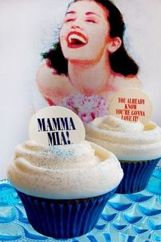 Take a chance on...some delicious cupcakes #MammaMia!