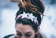 Sternen Haarband ITH Stick Freebie * Star headband ITH embroidery freebie