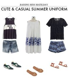 MY CUTE AND CASUAL SUMMER UNIFORM