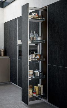 Kitchen Room Design, Kitchen Cabinet Design, Home Decor Kitchen, Interior Design Kitchen, Kitchen Modular, Modern Kitchen Cabinets, Diy Kitchen Storage, Contemporary Kitchen Design, Kitchen Remodel