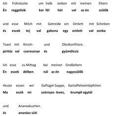 Német tanulás felnőtteknek otthon, egyedül - Weitz Teréz Math Equations, Grains, Learn German, Ham, Cherries, The Fruit, German