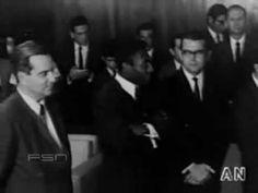 Regime Militar - General Médici recebe Pelé - Pelé visita o presidente M...