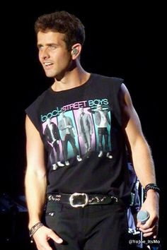 Joey Mac (Wearing A BSB Shirt)
