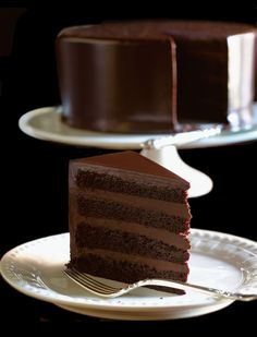 ♔ Gâteau au chocolat