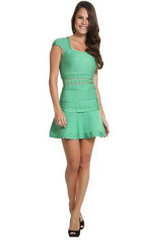 Dress & Go - Aluguel de vestidos de grandes estilistas   Vestido Evase Reto