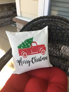 Diy Deer Family Pillow Cover Using Cricut Explore Amp Iron