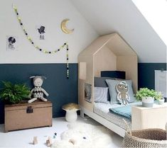 Your child's play room is one of the most fun rooms in the house to decorate. You can go crazy in this room and it's ok! Using bold colors, organizational tools, and area rugs, can help you keep this room fun and low maintenance. Boys Room Decor, Kids Bedroom, Bedroom Decor, Kids Rooms, Room Boys, Boy Decor, Rooms Ideas, Playroom Ideas, Baby Room Design