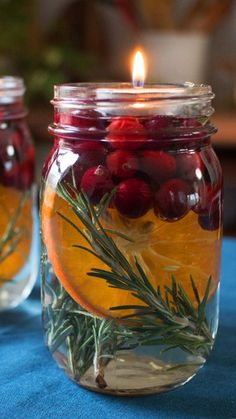 DIY Holiday Food Decor : Homemade tabletop decorations that look so good you'll want to eat them! Homemade tabletop decorations that look so good you'll want to eat them! Homemade tabletop decorations that look so good you'll want to eat them! Winter Christmas, Christmas Home, Merry Christmas, Elegant Christmas, Christmas Candles, Christmas Lights, Good Christmas Gifts, Christmas Smells, Christmas Quotes