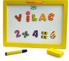Vilac Magnetic Chalkboard Plus Magnets Vilac http://www.amazon.com/dp/B001A4IF3E/ref=cm_sw_r_pi_dp_XUxPvb1MVC0V6