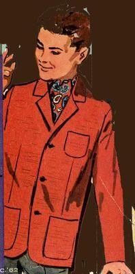 Advance 2899 Doll Clothes pattern for Ken & Allen Barbie's & Midge's Boyfriends. A 1960s Doll clothes pattern.