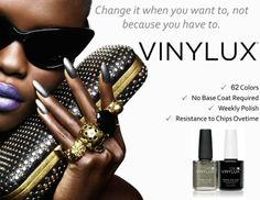 Vinylux polish from CND<3