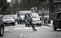 rollerblade, urban, paris, freeskate, speed, roller, rollerblade by AuthenticRollerblade, via Flickr