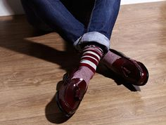 eadb7c2a607 Except on the fold  A colorful socks will add some attitude and fun on the