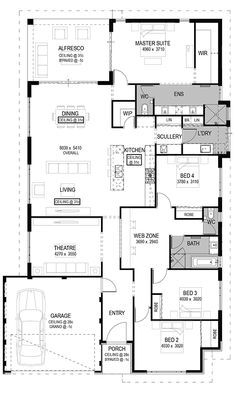 The Lucca Floorplan by National Homes