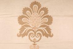 Robert Allen Beacon Hill Damask Texture Italian Woven Upholstery Fabric In Light Sisal