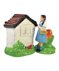 Take a look at this Dorothy & Wicked Legs Salt & Pepper Shakers by Westland Giftware on #zulily today!