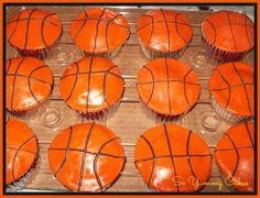 Basketball Cupcakes Basketball Cupcakes