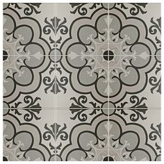 SomerTile 5.875x5.875-inch Calluna Solano Porcelain Floor and Wall Tile (22/Case, 5.73 sqft.)