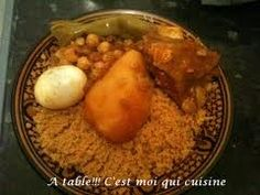 couscous - kadid et oeuf