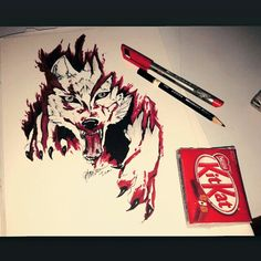 Wolf and kitkatt