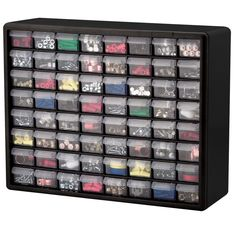 Tilt Bin Clear Small Parts Storage Cabinets | Akro-mils Storage ...