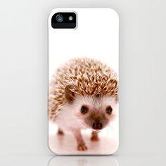 Hedgehog iPhone & iPod Case by Derek Doi - $35.00