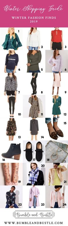 6cffb1ec971 Winter Shopping Guide; Winter Fashion 2019 Collection By Bumble and Bustle  #fashion #shopping