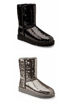 sequined boots - http://zzkko.com/n127117-he-domestic-spot-UGG-Australia-Sparkle-Short-Bootsl-sequined-boots-multicolor.html $20.52