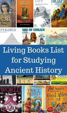 Are you studying ancient history? Here's a great booklist for learning about ancient cultures.