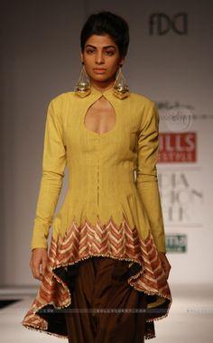 Designer Anand Kabra ,Wills Lifestyle India Fashion Week -2013, In New Delhi