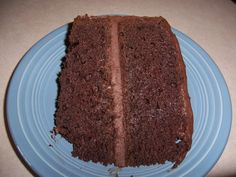 Really Easy  Moist Dark Chocolate Cake