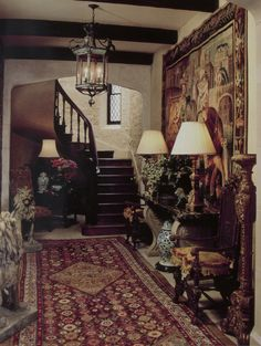 William R. Eubanks - Tapestry in Hallway