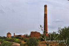 Ruinas de la fundición San Luis, pasado minero de Linares