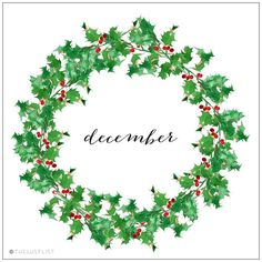 It's that wonderful time of year again… Welcoming December, the festive season, full of joy & love!