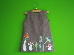 de droomfabriek: Gratis patroon babyjurkje paddestoel