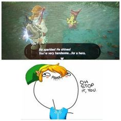 Oh link is hot lol