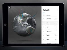 Nat Geo Globe Data Viz by Ben Cline for Rally Interactive