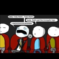 This is so going to be me when I go see The Hunger Games!!!