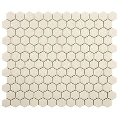 "EliteTile New York 0.875"" x 0.875"" Porcelain Mosaic Tile in Antique"