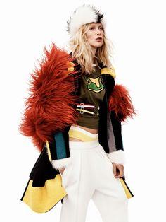 Vogue UK October 2014 Model: Iselin Steiro Photographer: Josh Olins