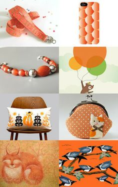 Orange you glad you found this? by Anya on Etsy--Pinned with TreasuryPin.com