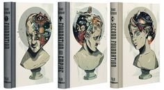 Alexander Wells Illustrates Asimov's Foundation Trilogy for The Folio Society via the Fox is Black