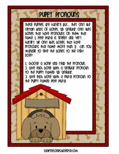 In this activity, your students will practice identifying and sorting singular and plural nouns in a new, fun way. Adorable doggies Sid Singular an. Teaching Language Arts, Classroom Language, Speech And Language, Student Teaching, Teaching Reading, Teaching Tools, Teaching Ideas, Pronoun Activities, Language Activities