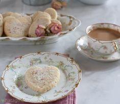 Rose Scented Shortbread Cookie Jars, Shortbread, Afternoon Tea, Tea Time, Tea Cups, Delicate, Foods, Cookies, Rose