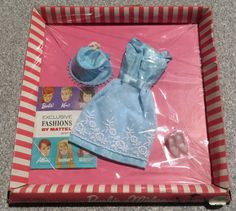 Barbie Vintage Clothes Reception Line 1654 from 1964 New SEALED NR | eBay