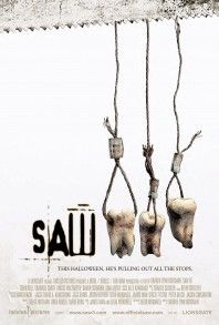 Saw (ALL of them) - Horror -  Slasher movies don't normally make it to my favorites but, as gory as these are, they are so inventive that I love them.  They have lots of surprises in them and the booby traps are so well thought out.